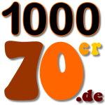 1000 70er Logo